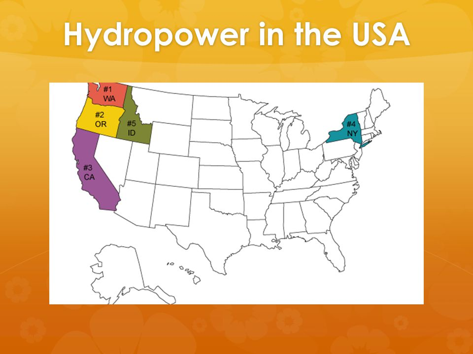 Hydropower in the USA