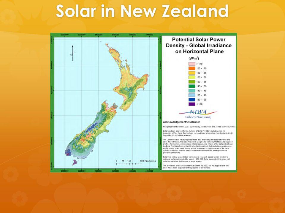 Solar in New Zealand