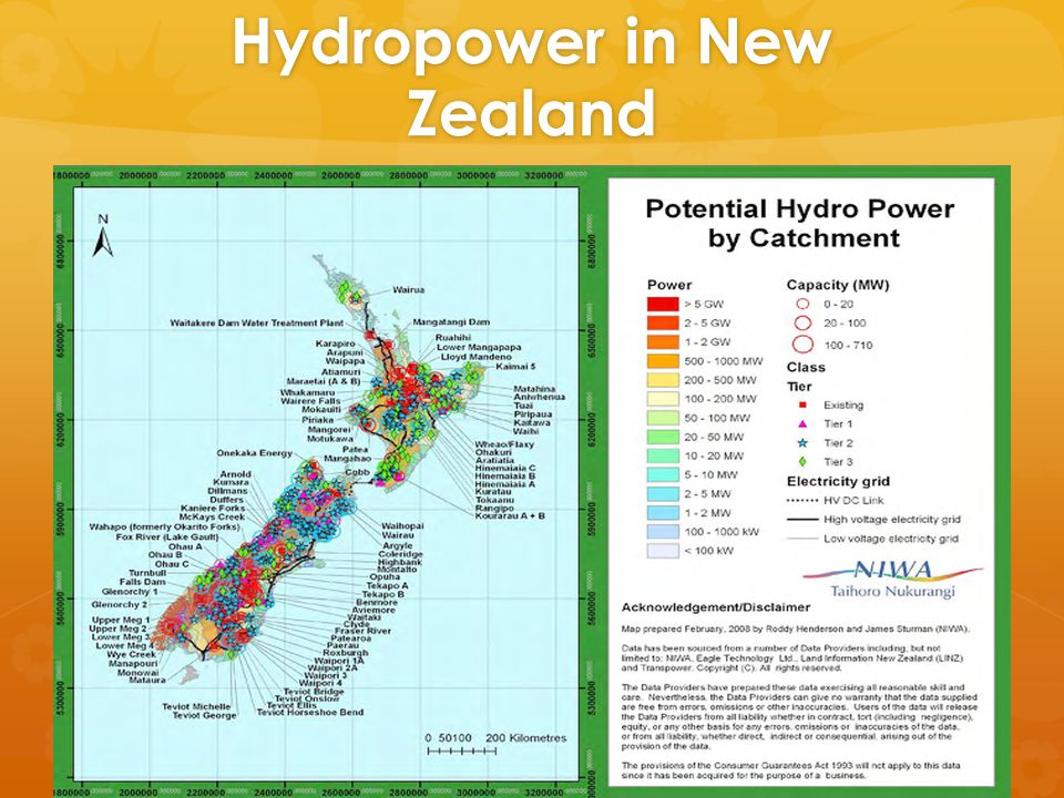Hydropower in New Zealand