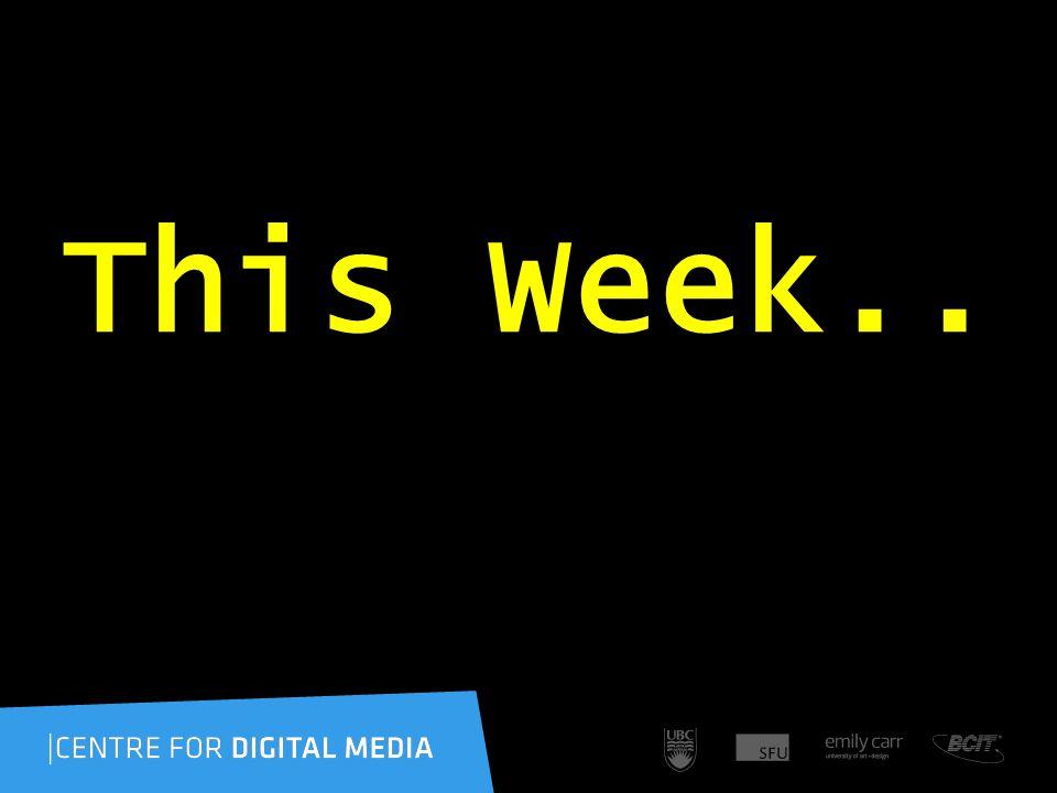 This Week..