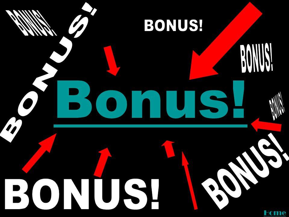 Bonus Bonus! Home