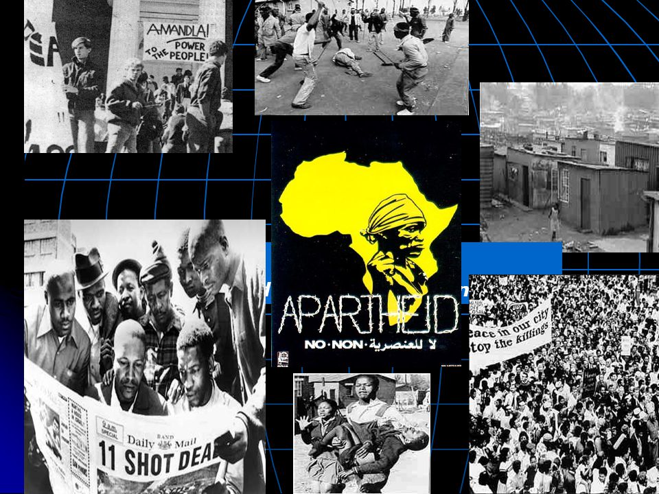 The Policy of Apartheid Would continue until 1992.