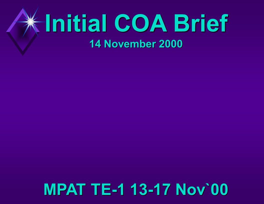 Initial COA Brief 14 November 2000 MPAT TE-1 13-17 Nov`00