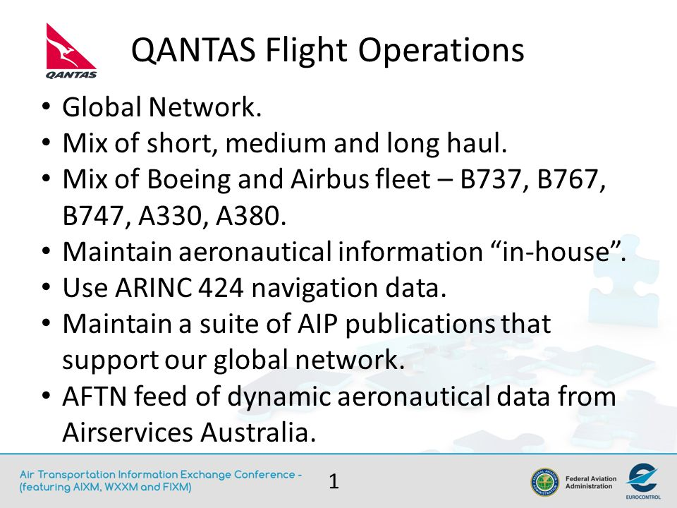 The Airline Perspective - Roadmap Timing is perfect as QANTAS embark on flight planning system replacement.