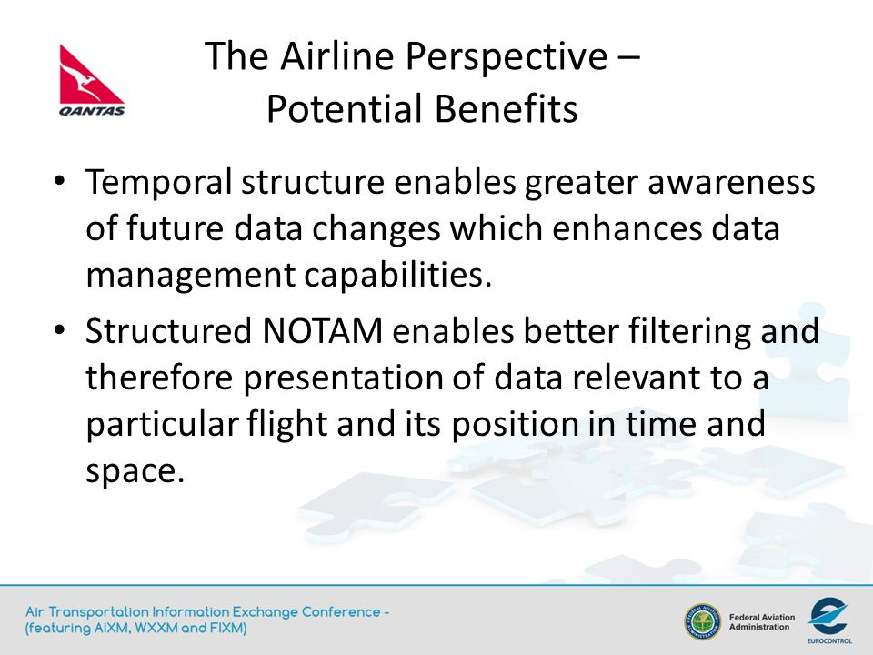 The Airline Perspective - Challenges Obtaining a global source of AIXM data.