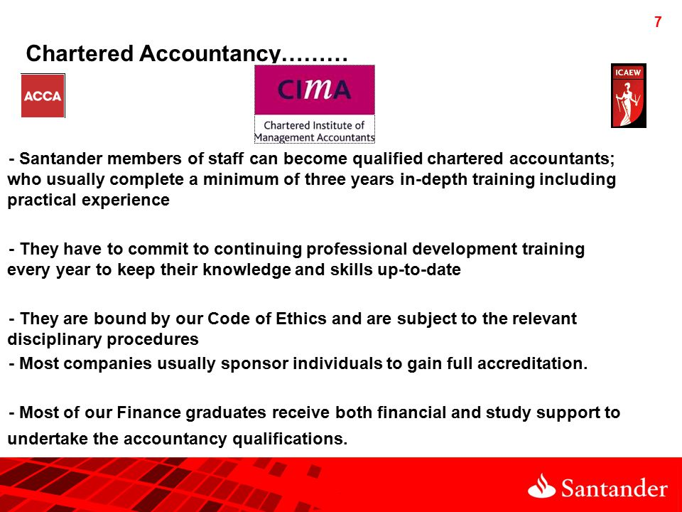 8 Other Chartered Qualifications….