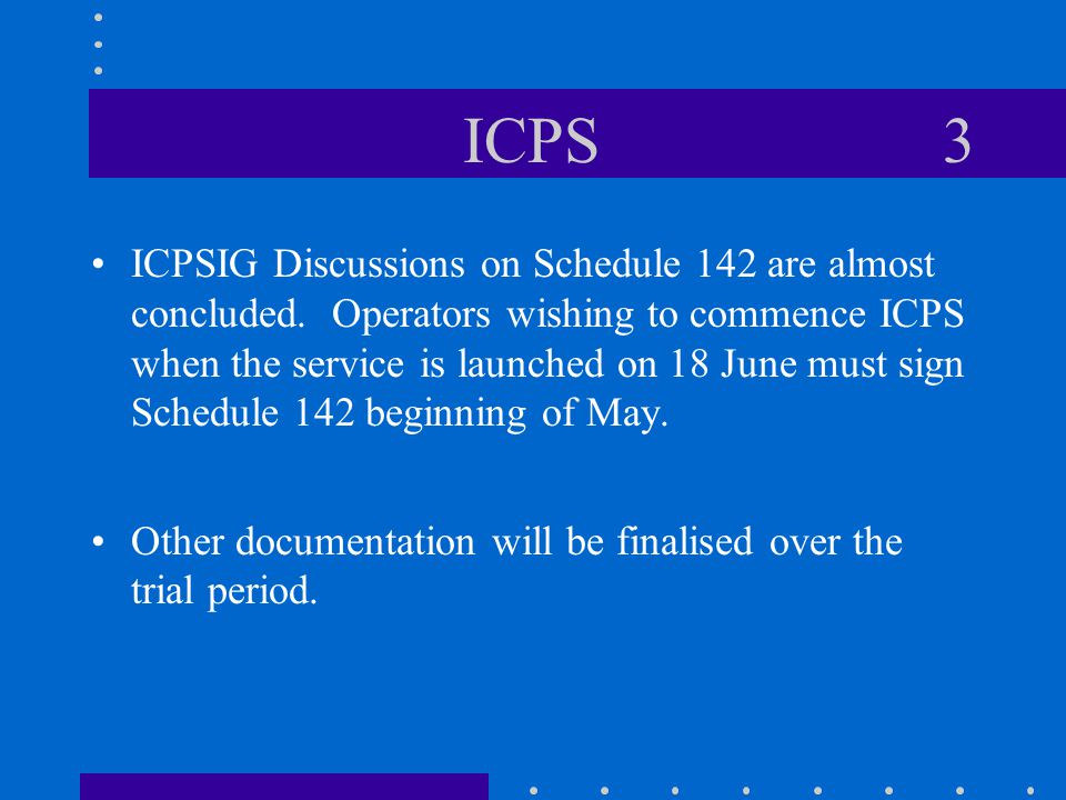 ICPS 4 BT's Front-End System Development has now begun.