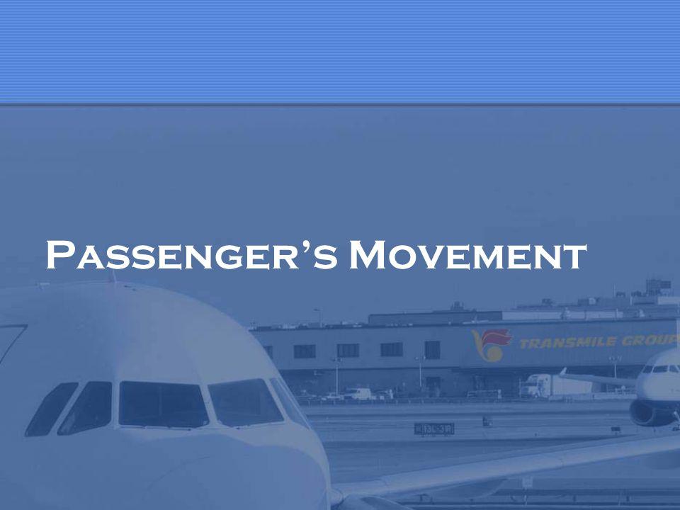 Passenger's Movement
