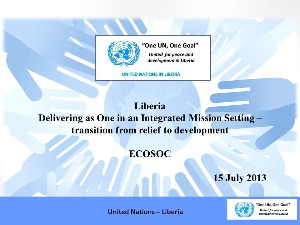 Liberia Basic Facts United Nations – Liberia Population: 3.5 million.