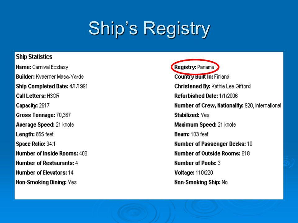 Ship's Registry