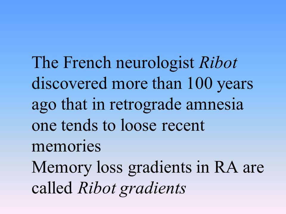 Clinical presentation of amnesia (con'd) Focal brain damage Closed-head injury Transient global amnesia (TGA) Electroconvulsive therapy Psychogenic (functional) amnesia