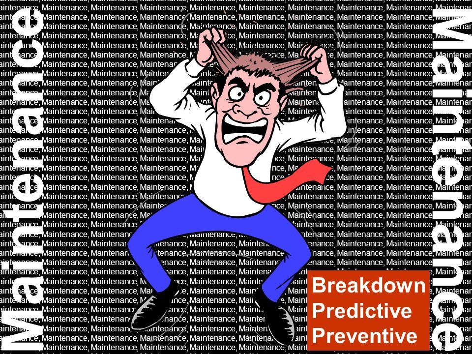Maintenance, Maintenance, Maintenance, Maintenance, Maintenance, Maintenance Breakdown Predictive Preventive