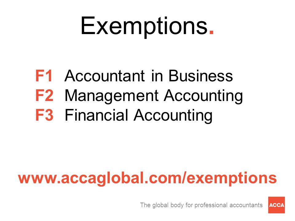 Exemptions.