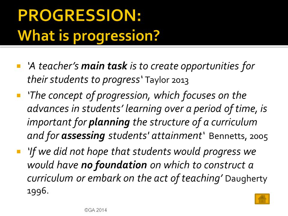  Pupils' learning and progress in geography is seldom linear.