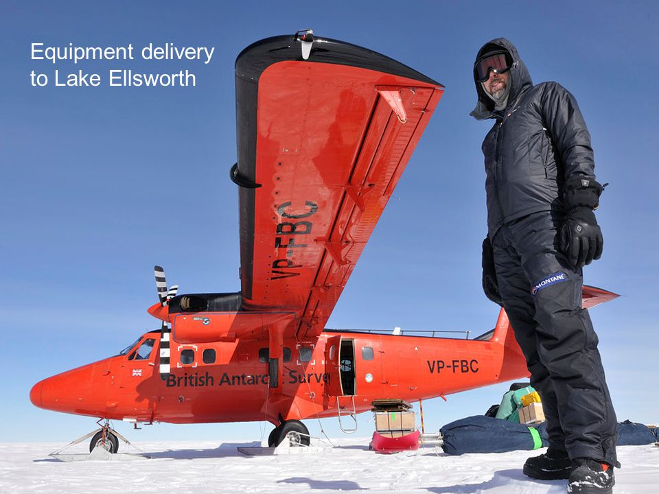 Rothera Research Station Equipment delivery to Lake Ellsworth