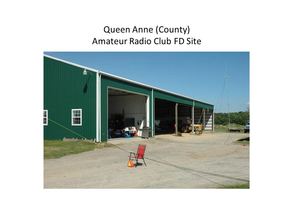 Queen Anne (County) Amateur Radio Club FD Site