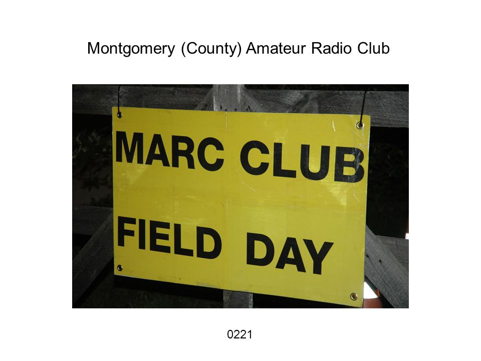 Montgomery (County) Amateur Radio Club 0221