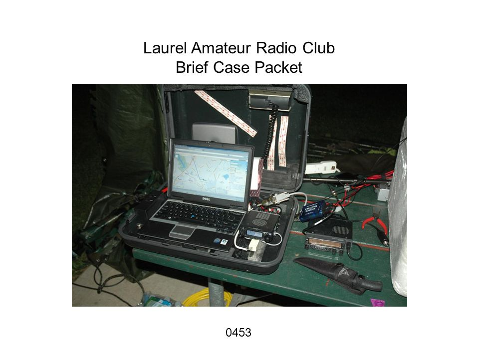 Laurel Amateur Radio Club Brief Case Packet 0453
