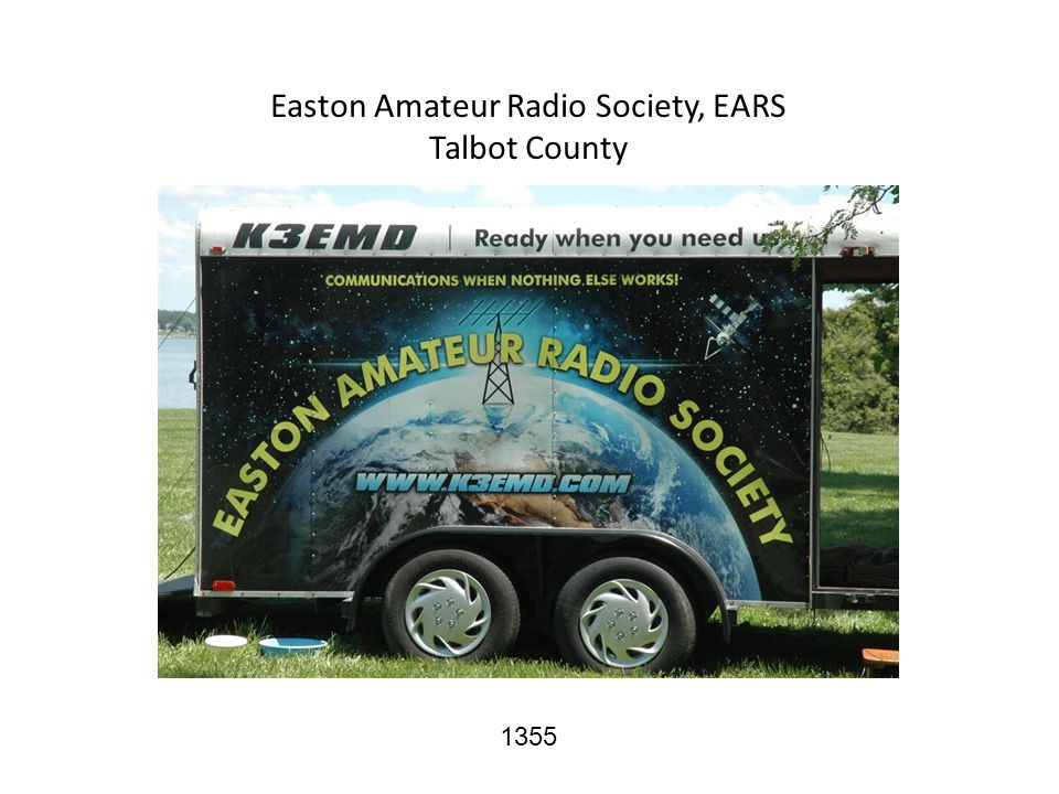 Easton Amateur Radio Society, EARS Talbot County 1355