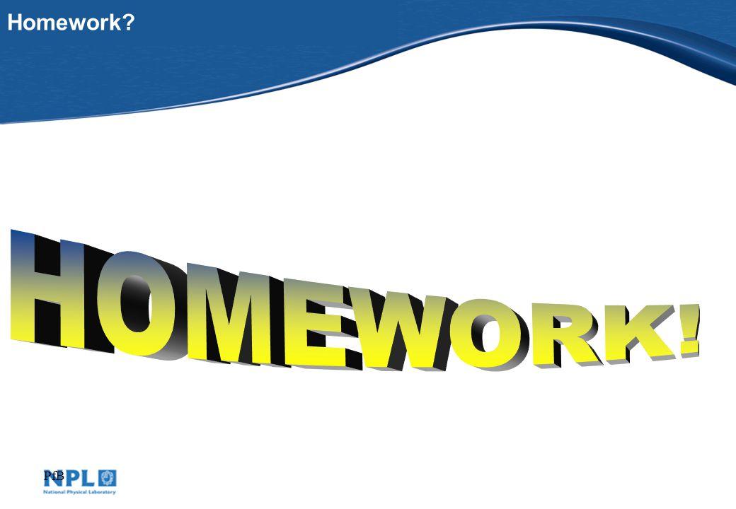 PfB Homework