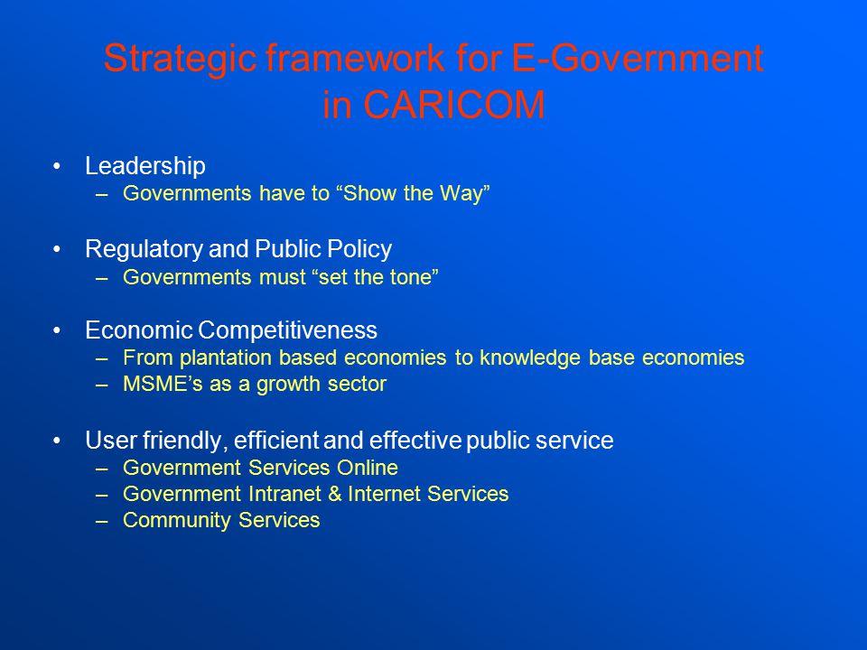 Why e-Government.
