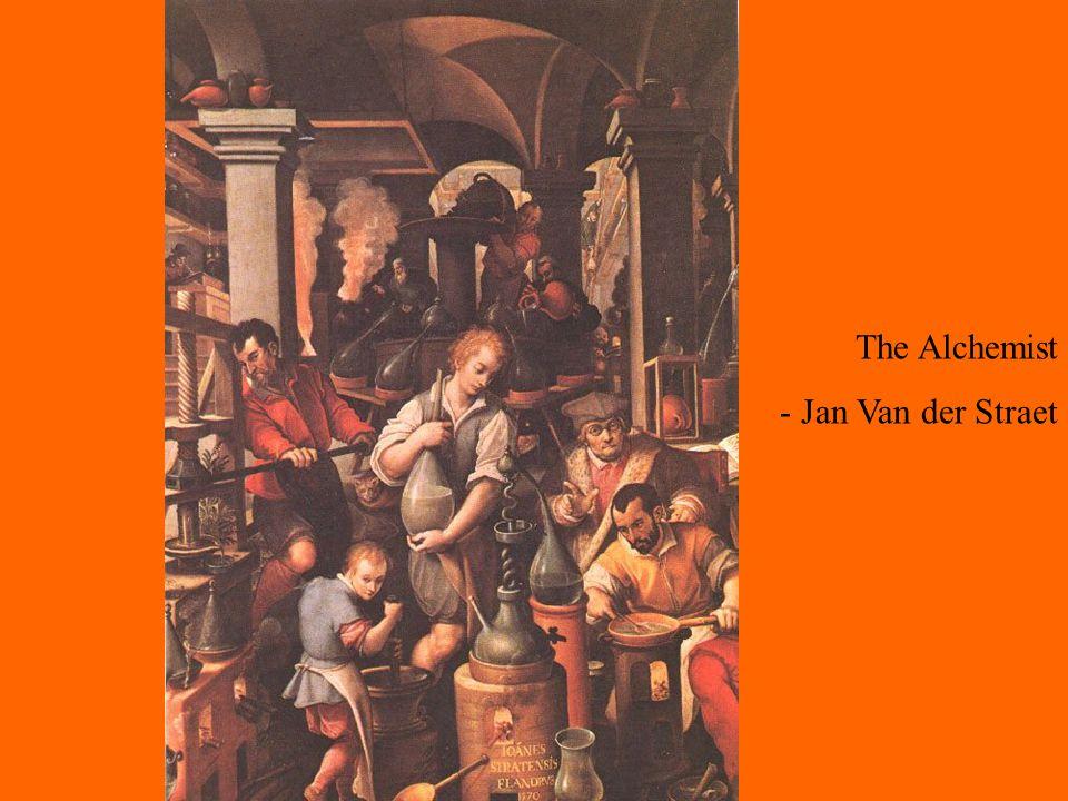 The Alchemist - Jan Van der Straet