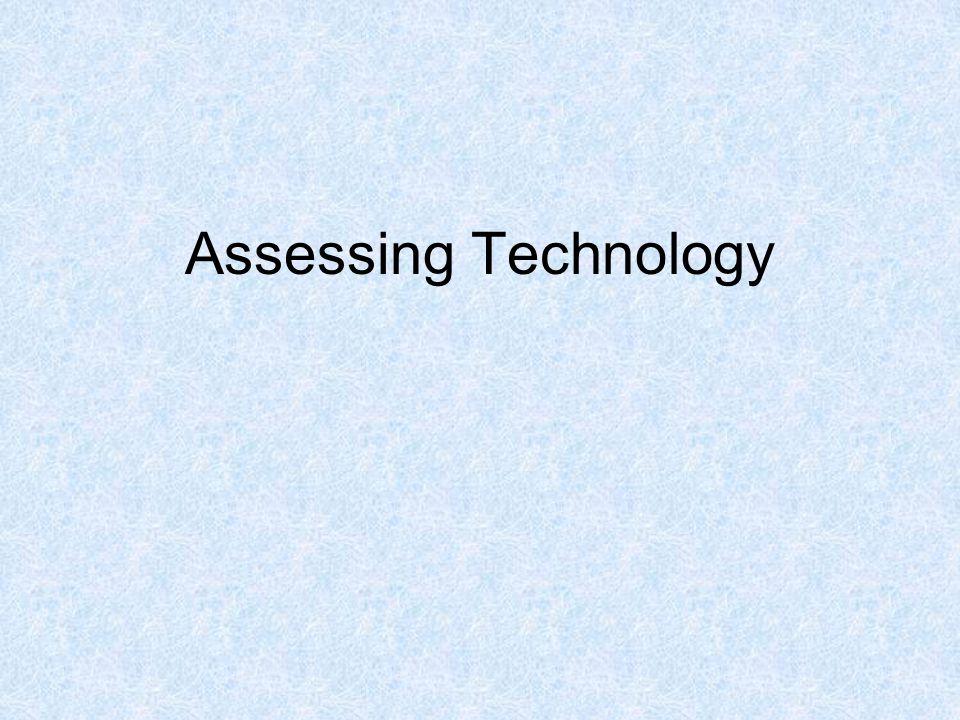 Assessing Technology