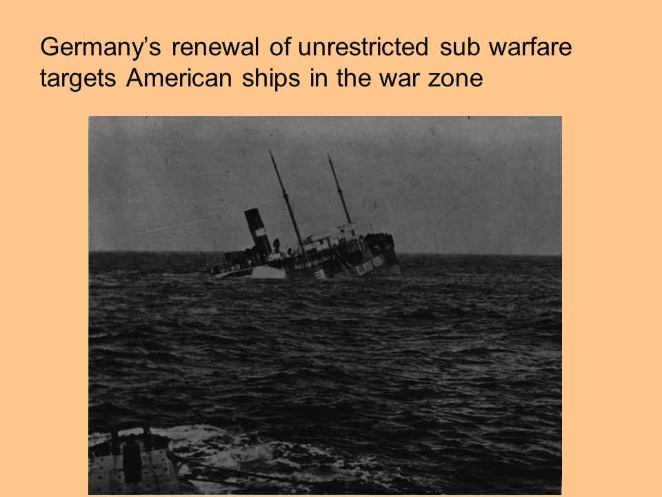 Key events following US entry By 1918, all sides were planning offensives German offensive is stalled by mid-Spring Effective control of the seas by Britain and U.S.