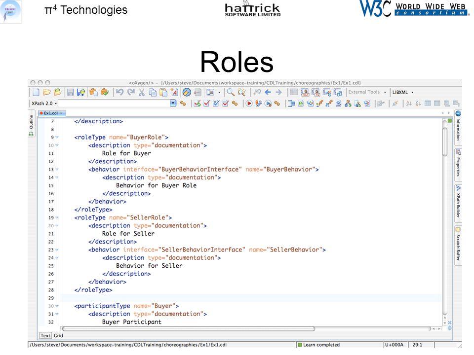 π 4 Technologies Roles