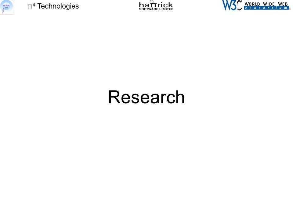 π 4 Technologies Research
