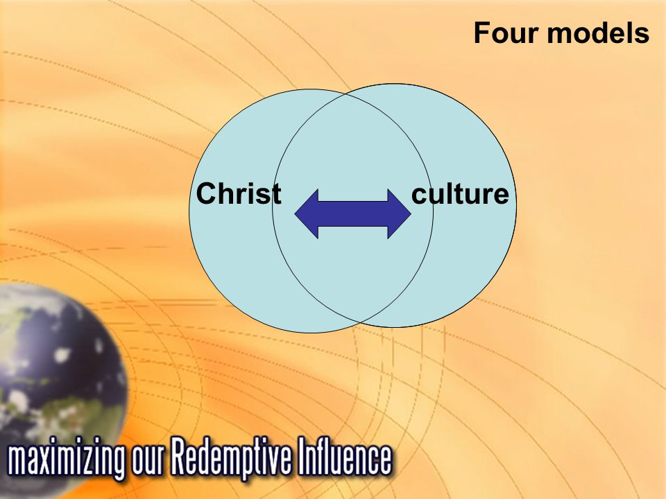 Christ Four models culture