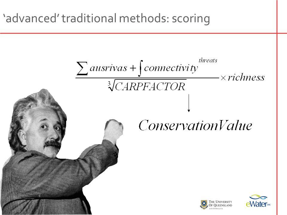3 + 5 - 2 =? 'advanced' traditional methods: scoring
