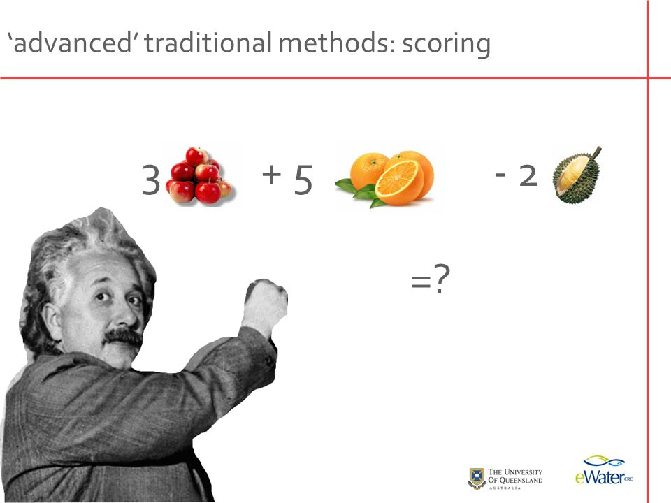 why not use richness/scoring systems.
