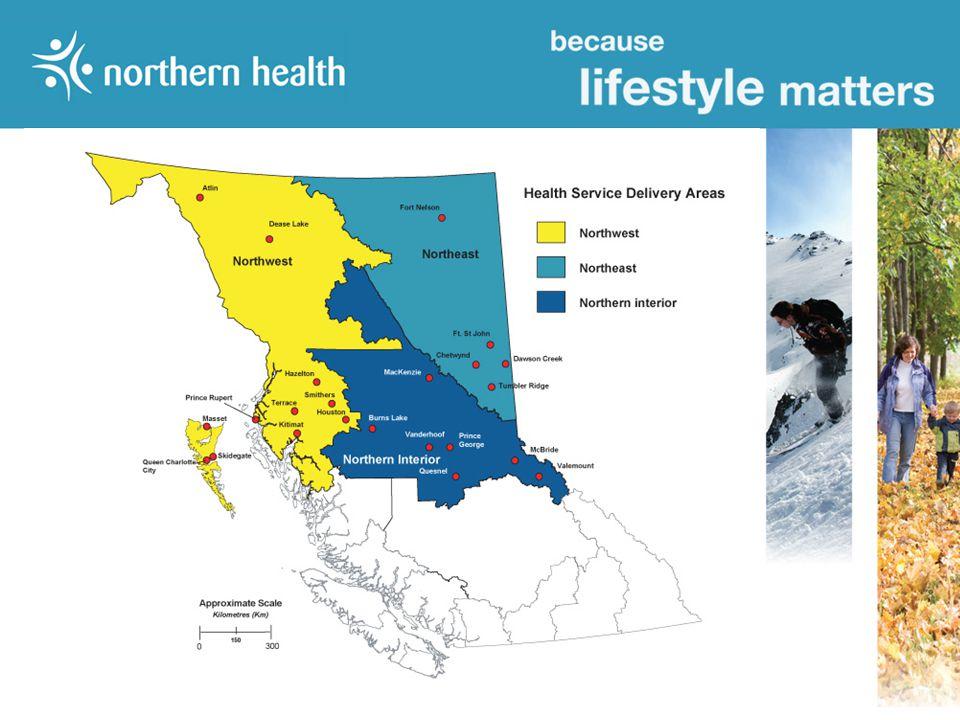 Northwest Northeast Northern Interior