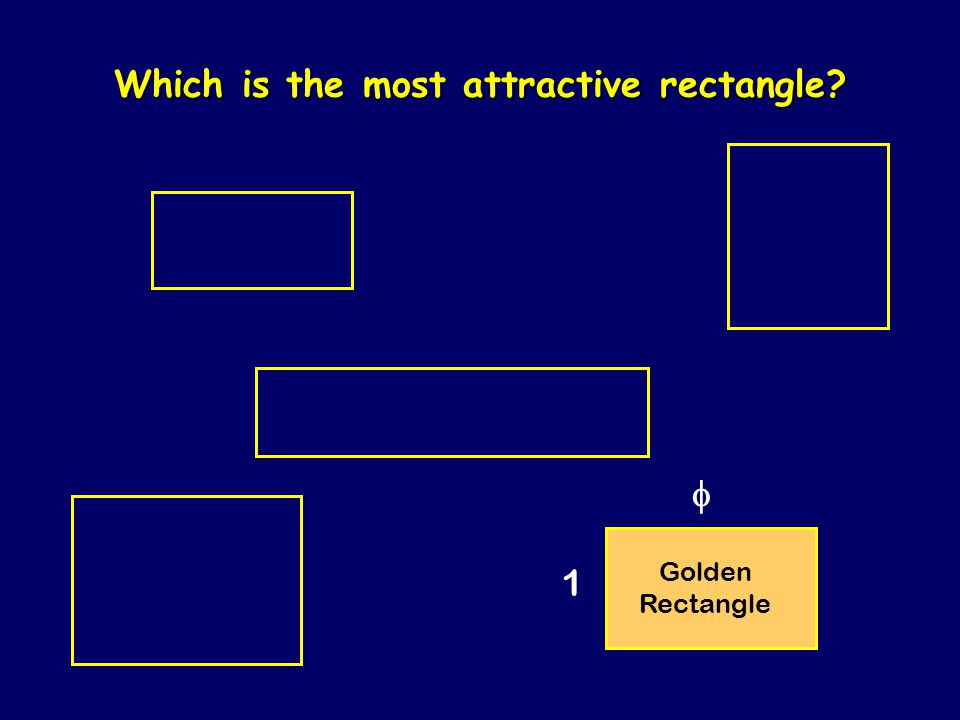 Which is the most attractive rectangle?