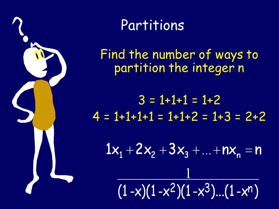 Solve in integers x + y + z = 11 x r 0; 0  y  3; z r 0 [X 11 ]
