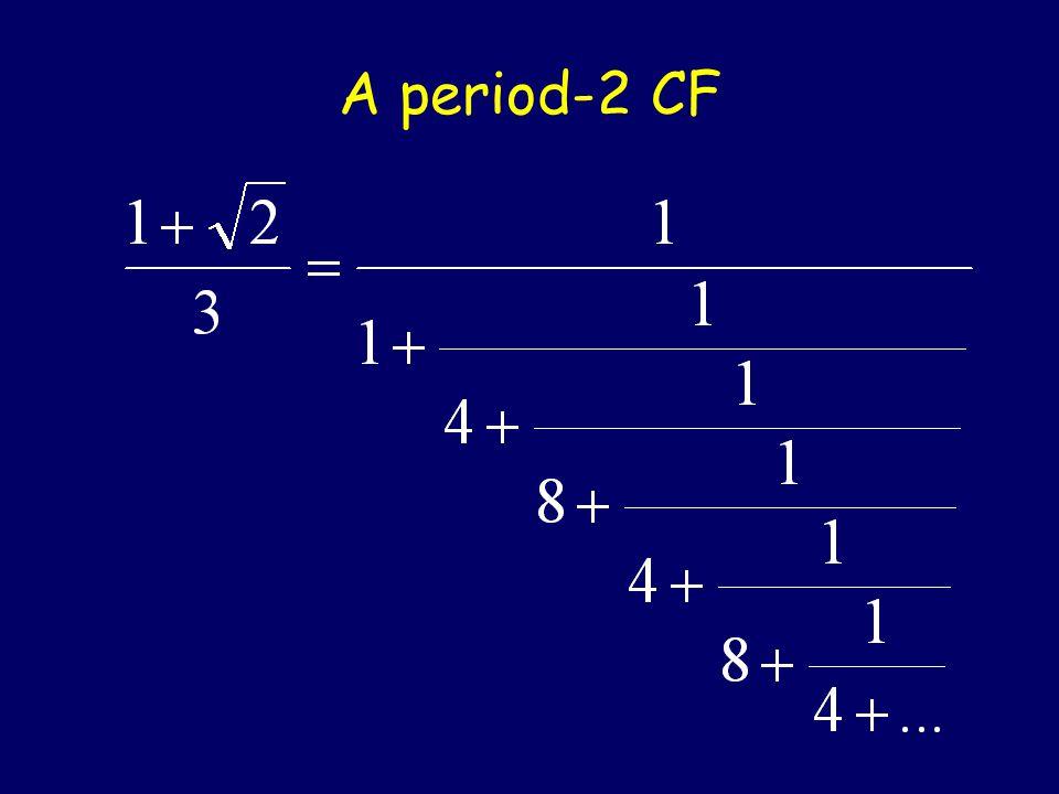 A Periodic CF