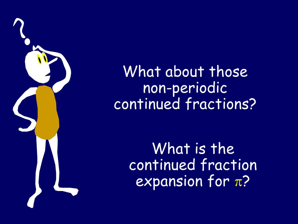 Proposition: Any quadratic solution has a periodic continued fraction.