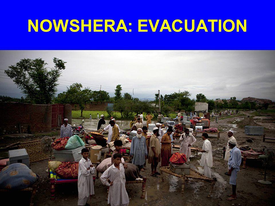NOWSHERA: EVACUATION