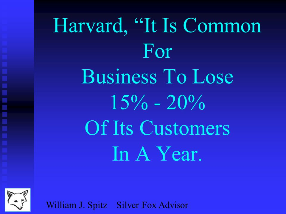 William J. Spitz Silver Fox Advisor n Can We Count On Continued High Growth.