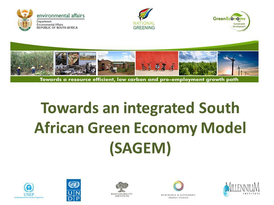 Data sources of SAGEM modules