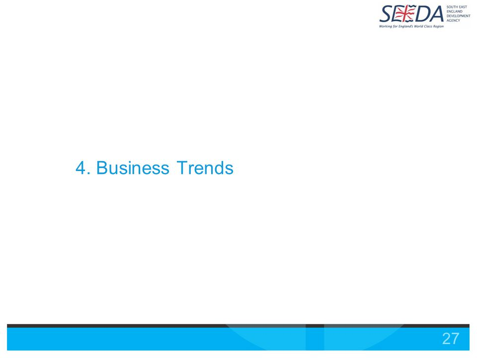 27 4. Business Trends