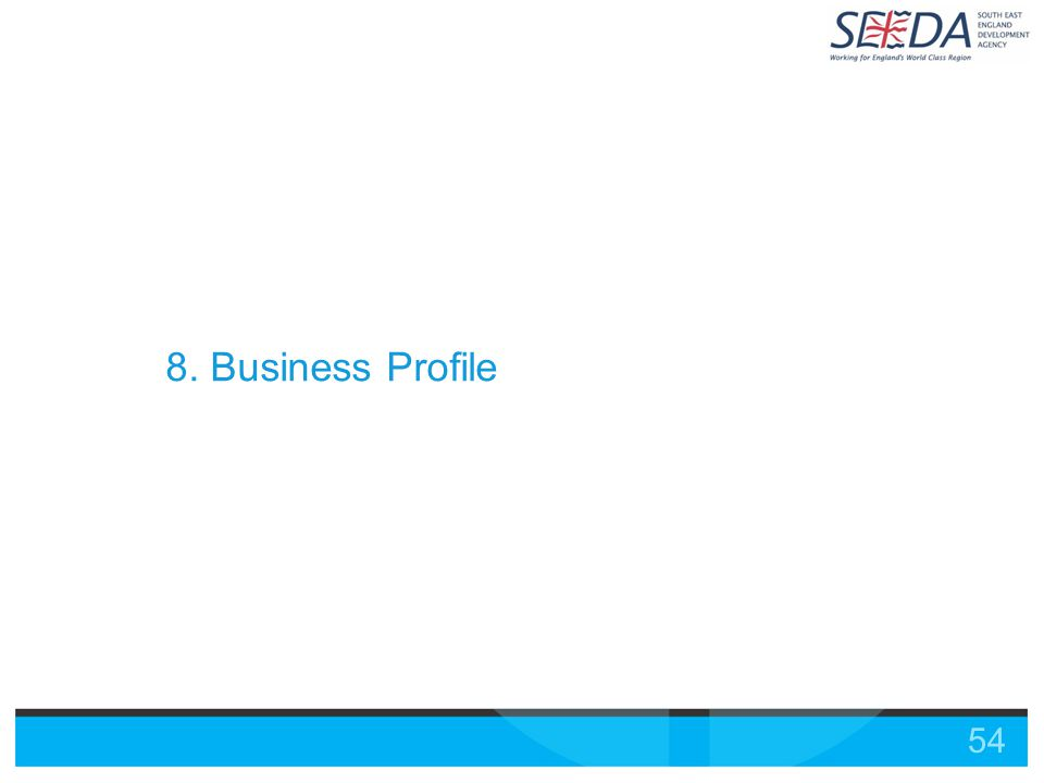 54 8. Business Profile