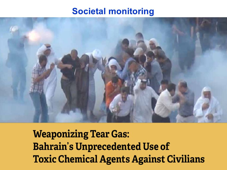Societal monitoring