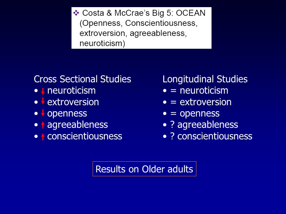 Trait (beliefs about control) Locus of Control (Rotter) InternalExternal I control what happens to me.