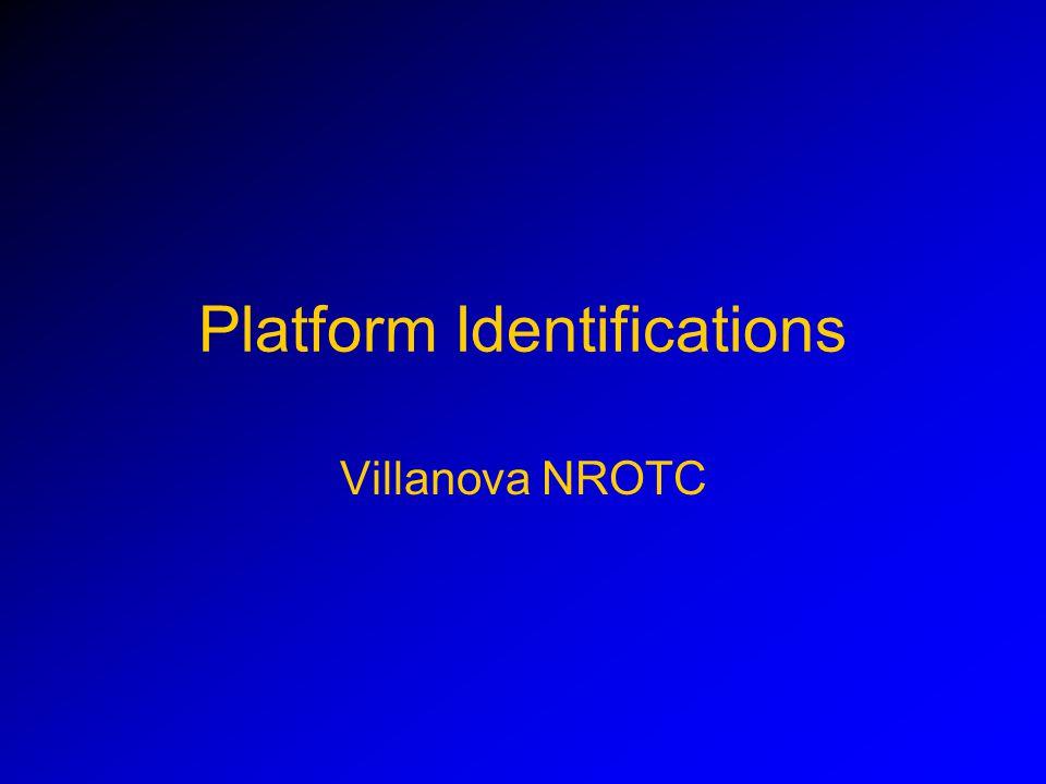 Platform Identifications Villanova NROTC