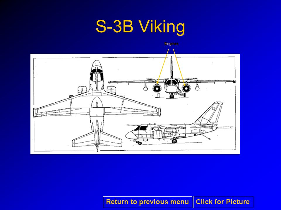S-3B Viking Engines Return to previous menu Click for Picture