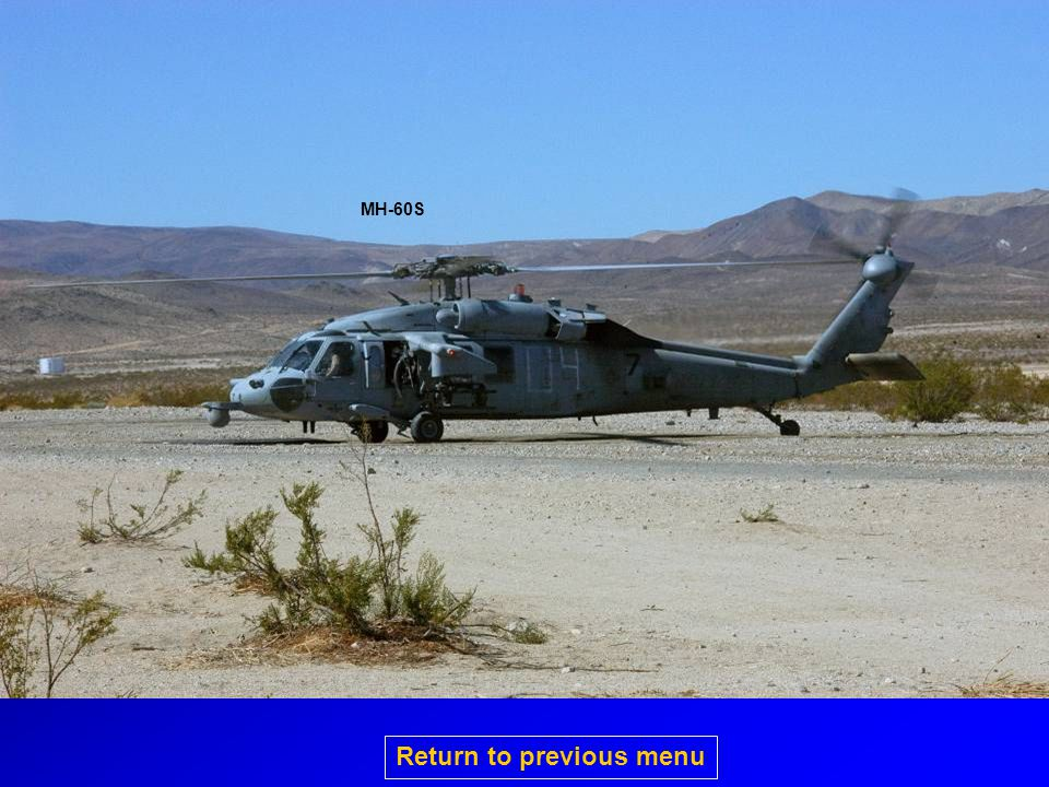 MH-60S Return to previous menu