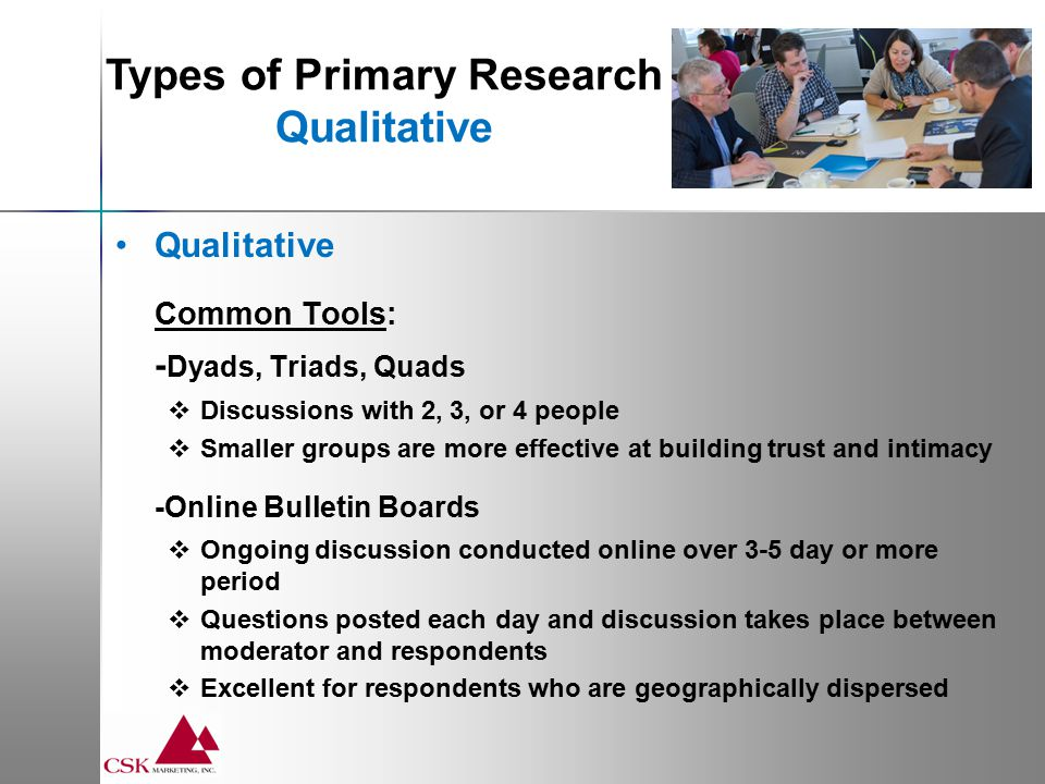 Steps to Conducting A Focus Group 1.Identify your research objectives.