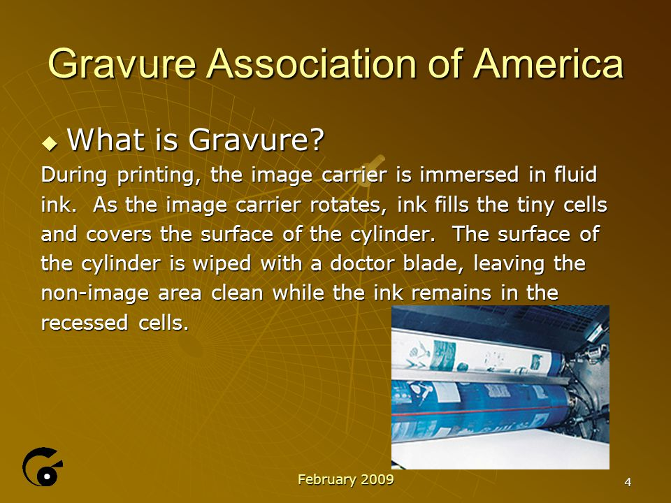 15 Gravure Association of America  TECHNICAL SERVIES  Consulting Bruce Beyer, GAA technical director, provides a valuable outside perspective to help you sharpen your focus.